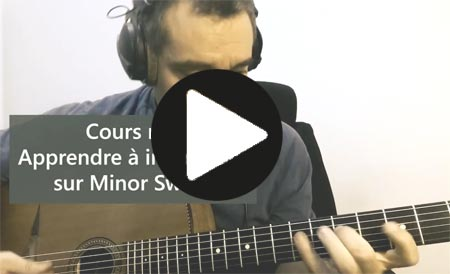 Apprendre le jazz manouche Minor Swing n4